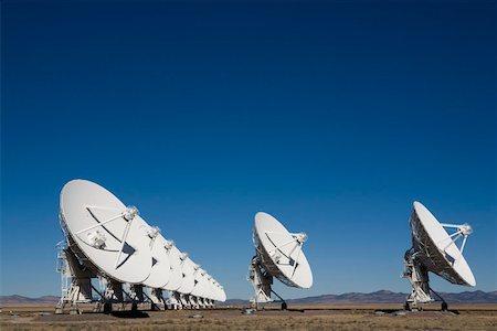 radio telescope - National Radio Astronomy Observatory (Socorro) Stock Photo - Premium Royalty-Free, Code: 653-01656280