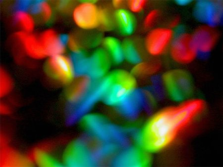 blurred, colorful lights Stock Photo - Premium Royalty-Free, Code: 653-01650862