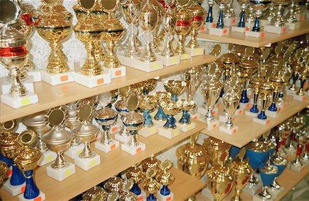 A trophy shop Stock Photo - Premium Royalty-Free, Code: 653-01652562