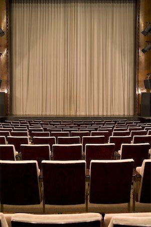 An empty art deco theatre Stock Photo - Premium Royalty-Free, Code: 653-01665877