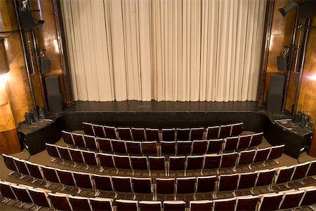 An empty art deco theatre Stock Photo - Premium Royalty-Free, Code: 653-01665923