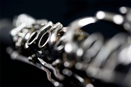 Detail of a clarinet Stock Photo - Premium Royalty-Free, Code: 653-01662434