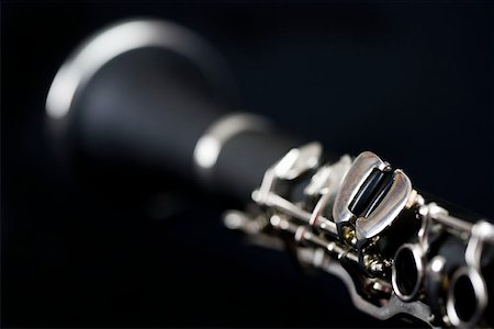 Detail of a clarinet Stock Photo - Premium Royalty-Free, Code: 653-01662442