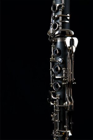 Detail of a clarinet Stock Photo - Premium Royalty-Free, Code: 653-01662461