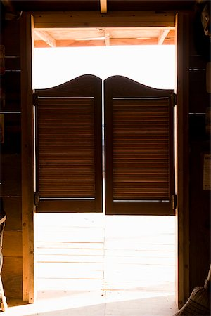 saloon - Saloon doors Stock Photo - Premium Royalty-Free, Code: 653-02634401