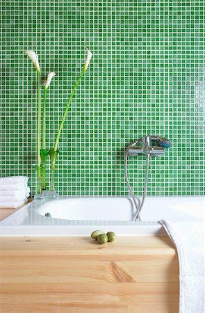 A modern bathroom Stock Photo - Premium Royalty-Free, Code: 653-03079702