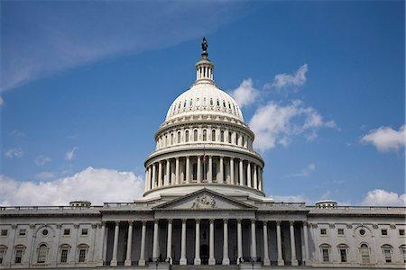 United States Capitol Building, Washington DC, USA Stock Photo - Premium Royalty-Free, Code: 653-03333947