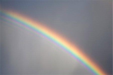 rainbow - Detail of a rainbow Stock Photo - Premium Royalty-Free, Code: 653-03575260