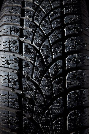 Extreme close up of a tire, full frame Stock Photo - Premium Royalty-Free, Code: 653-03575449