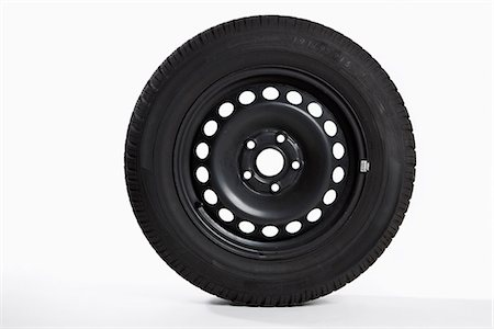 A tire, side view Stock Photo - Premium Royalty-Free, Code: 653-03575460