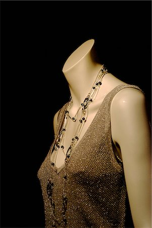 A mannequin wearing a glamorous top Stock Photo - Premium Royalty-Free, Code: 653-03576266