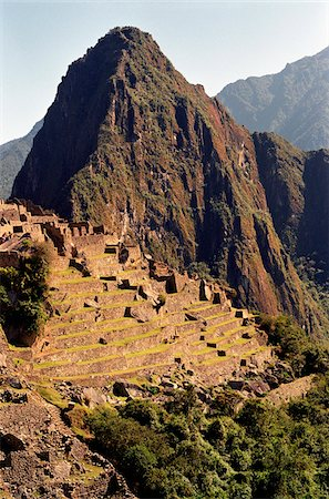 The ruins of Machu Picchu, Peru, Latin America Stock Photo - Premium Royalty-Free, Code: 653-03705795