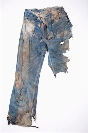 Extremely worn out jeans Stock Photo - Premium Royalty-Free, Code: 653-03706168