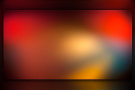 Abstract colored light on a screen Stock Photo - Premium Royalty-Free, Code: 653-03706380
