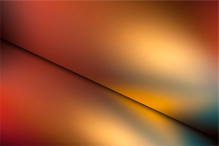 Abstract colored light on two screens Stock Photo - Premium Royalty-Free, Code: 653-03706412