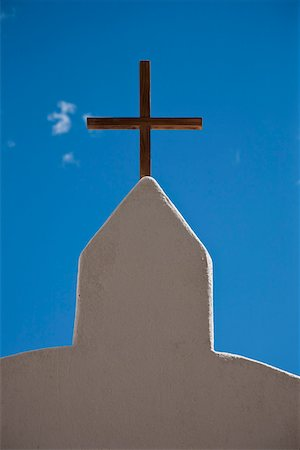 religious cross nobody - Detail of a church Stock Photo - Premium Royalty-Free, Code: 653-03706573