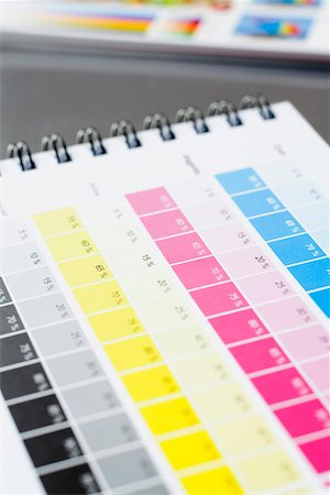 print - A CMYK color chart Stock Photo - Premium Royalty-Free, Code: 653-03706646