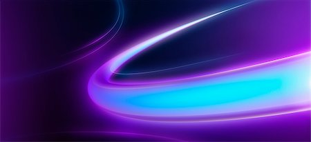 purple - Glowing blue and purple rings on a black background, close-up Stock Photo - Premium Royalty-Free, Code: 653-03843722