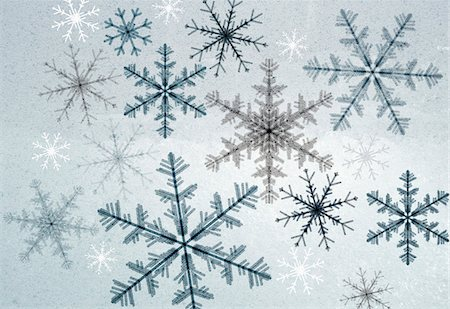 star shape background - Snowflakes Stock Photo - Premium Royalty-Free, Code: 653-03843922