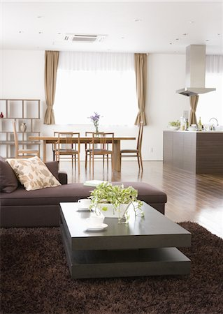 Living room Stock Photo - Premium Royalty-Free, Code: 669-03708521