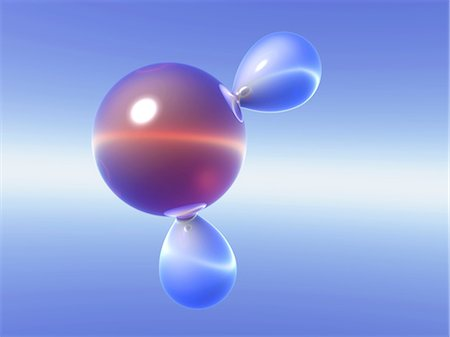 element - Water molecule Stock Photo - Premium Royalty-Free, Code: 679-04249795