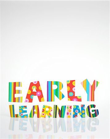 Early learning, conceptual image Stock Photo - Premium Royalty-Free, Code: 679-04249997