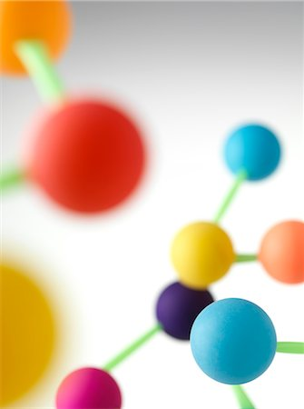 focus on background - Molecular structure Stock Photo - Premium Royalty-Free, Code: 679-04250000