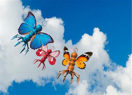 Flying microbots, artwork Stock Photo - Premium Royalty-Free, Code: 679-04250252