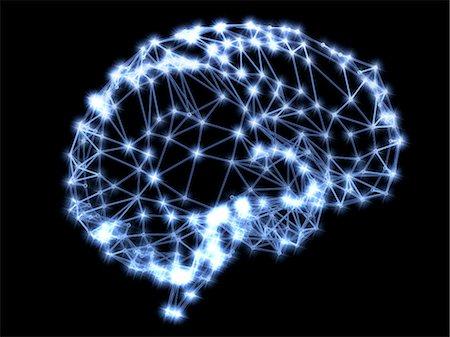 Neural network Stock Photo - Premium Royalty-Free, Code: 679-04250509