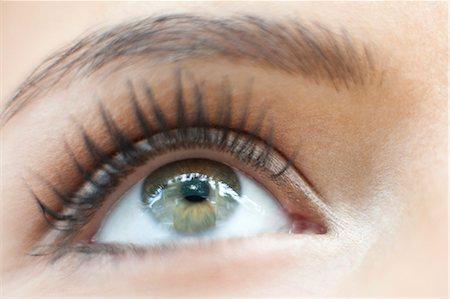 Teenage girl's eye Stock Photo - Premium Royalty-Free, Code: 679-04251035