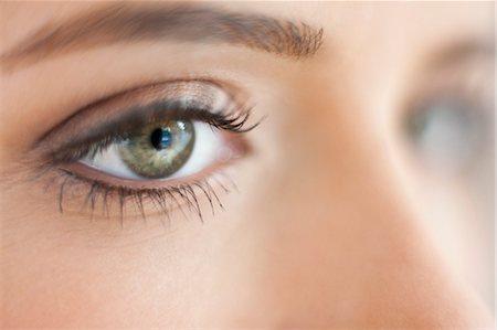 Teenage girl's eye Stock Photo - Premium Royalty-Free, Code: 679-04251033