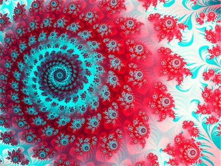 spiral - Julia fractal Stock Photo - Premium Royalty-Free, Code: 679-04251373