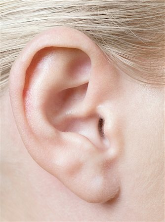Woman's ear Stock Photo - Premium Royalty-Free, Code: 679-05797465