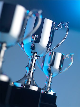 Trophies Stock Photo - Premium Royalty-Free, Code: 679-05797615