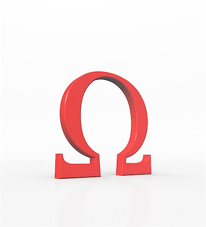 red greek letters omega is the 24th and last letter of the greek alphabet