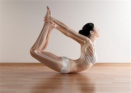 spotted - Yoga, artwork Stock Photo - Premium Royalty-Free, Code: 679-05798742