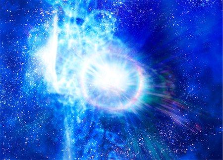 exploding - Big bang, conceptual computer artwork. Stock Photo - Premium Royalty-Free, Code: 679-05996368