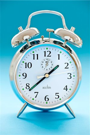 Alarm clock. Stock Photo - Premium Royalty-Free, Code: 679-05996477