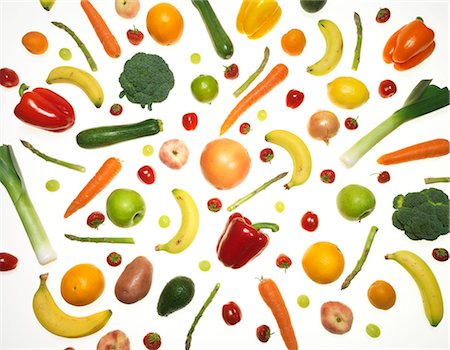 Fruit and vegetables. Stock Photo - Premium Royalty-Free, Code: 679-05996536