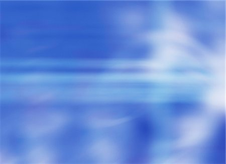 Computer artwork of an abstract blue background. Stock Photo - Premium Royalty-Free, Code: 679-05992488
