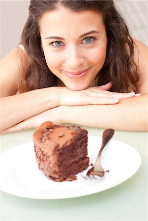 Diet temptation. Stock Photo - Premium Royalty-Free, Code: 679-06198563