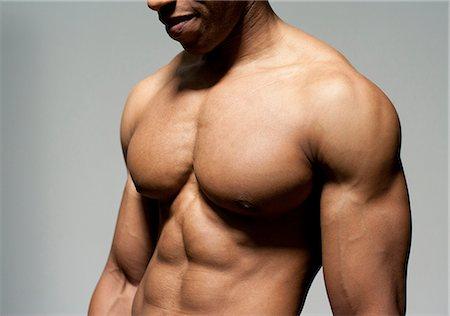 Male torso. Stock Photo - Premium Royalty-Free, Code: 679-06198644