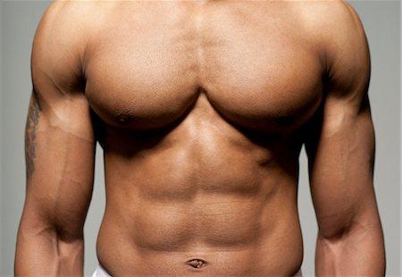 Male torso. Stock Photo - Premium Royalty-Free, Code: 679-06198641