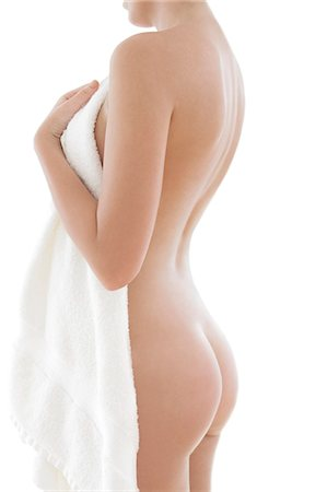 Woman's back. Stock Photo - Premium Royalty-Free, Code: 679-06673217