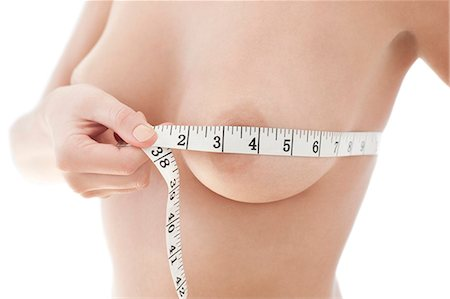 Bust measurement. Stock Photo - Premium Royalty-Free, Code: 679-06673219
