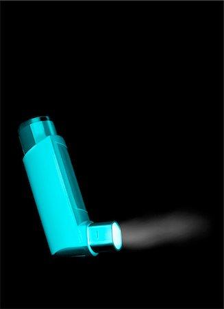 puff - Asthma inhaler. Stock Photo - Premium Royalty-Free, Code: 679-06673731