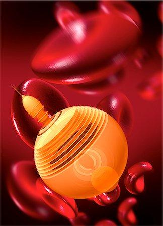 Medical nanobot, computer artwork. Stock Photo - Premium Royalty-Free, Code: 679-06755621