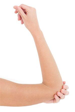 Woman's elbow. Stock Photo - Premium Royalty-Free, Code: 679-06755697