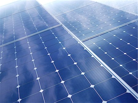 solar power - Solar energy, computer artwork. Stock Photo - Premium Royalty-Free, Code: 679-06755892