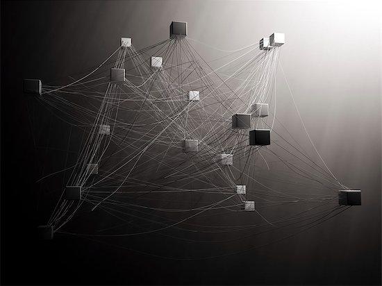 Connectivity, conceptual computer artwork. Stock Photo - Premium Royalty-Free, Image code: 679-06755904